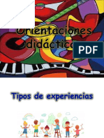 Orientaciones Didacticas Artes