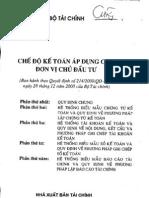 Sach Che Do Ke Toan Chu Dau Tu QD 214