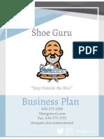 shoe guru business plan