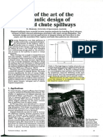 Chanson - State of the Art of the Hydraulic Design of Stepped Chute Spillways