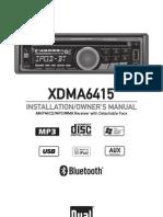 Radio Owners Manual Xdma6415