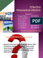 Entreprenuership STRATEGI pemasaran