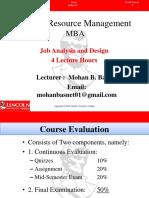 Unit-3 Job Analysis and Design