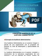Conceptos Generales de La Auditoria Administrativa