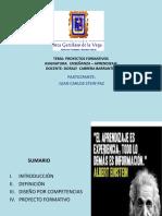 Exp Proyectos Formativos