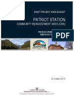 Patriot Station CRA Project Area Budget (11.25.2019) (004)