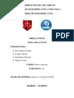REACTIVOS_2do PARCIAL OBRAS