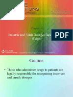 Pediatric dan Adult Dosages on body weihgt.pdf