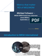 Mesa Metrics That Matter and Roi of Mes Mom