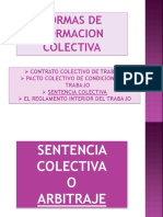 LAS FORMAS DE NORMACION COLECTIVA. usac