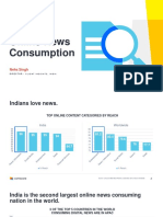 Comscore Trends in Online News Consumption in India NOV2019