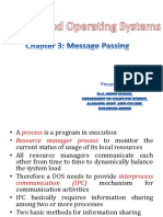 Message Passing in Distributed Operating Systems