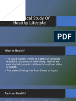 Sociological Study of Healthy Lifestyle