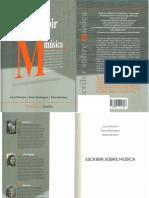 Escribir Sobre Música PDF