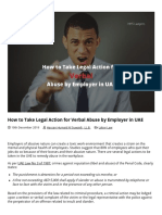 Legal Action for Verbal Abuse by Employer in UAE _ Labor Lawyers in UAE