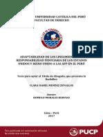 Mendez Zevallos Adaptabilidad de Los Lineamientos de Responsabilidad Fiduciaria de Los Estados Unidos y Reino Unido en Las Afp en El Peru (2)