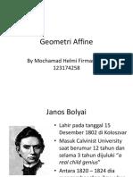Affine Geometry Revisi 2