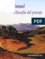 Georg Simmel - Filosofía del paisaje