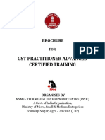 Gst Practitioner Advanced - Class