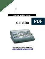 Se800 Manual Rev