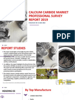 Calcium Carbide MaDownload free report Sample;-rket Professional Survey Report 2019