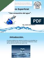 Uso Consuntivo Del Agua 2019