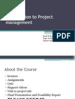 1. Project Management Basics