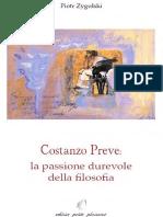 Piotr Zygulski - Costanzo Preve -  La Passione Durevole Della Filosofia PDF
