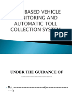 RFID BASED VEHICLE MONITORING AND TOLL COLLECTION SYSTEM PPT.ppt