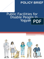 Policy Brief - Public Facilities for Disable People in Yogyakarta