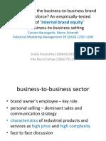 Internal branding equity