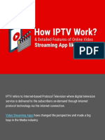 How IPTV Work & Detailed Features of Online Video Streaming App Like Netflix