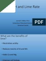 Lime Rate and Soil Properties Webinar