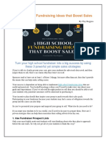 3 High School Fundraising Ideas That Boost Sales