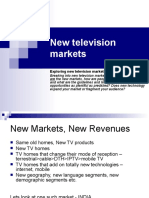 New Television Markets