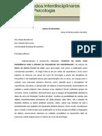 Modelo de Carta as Editoras