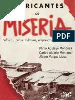 FABRICANTES DE MISERIA