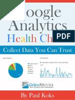 Google Analytics Health Check