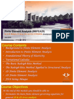 Finite Element Analysis - 2019