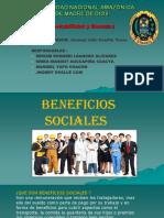 beneficios sociales