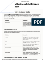 Configure Where to Load Data