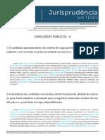 Jurisprudência em Teses 11 CONCURSOS PÚBLICOS II