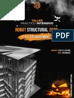 Brochure Taller Intensivo Robot 2020