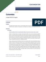 Colombia Monitor PESTLE