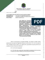 ADI 5949 permanencia de preso provisorio no sistema penitenciario estadual
