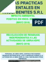 7. Campaña Medio Ambiente - Mayo 2019