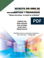 Proyecto Del Area de Informatica y Tecnologia