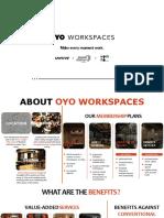 Oyo WorkSpaces Mini Deck