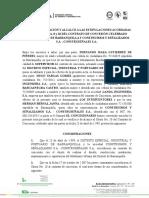 ACTA DE VERIFICACIÓN Y ALCANCE DEL OTRO SI #9 AMOBLAMIENTO URBANO