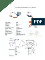 Motor Stepper Datasheet